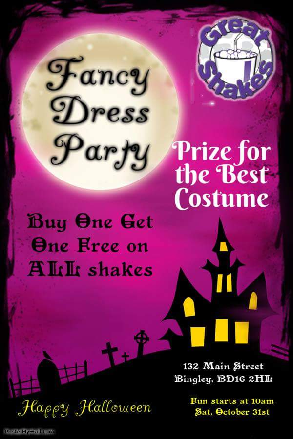 Halloween Events Near Bingley!