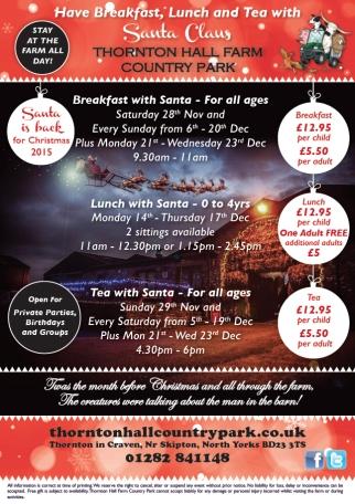 thornton hall santa