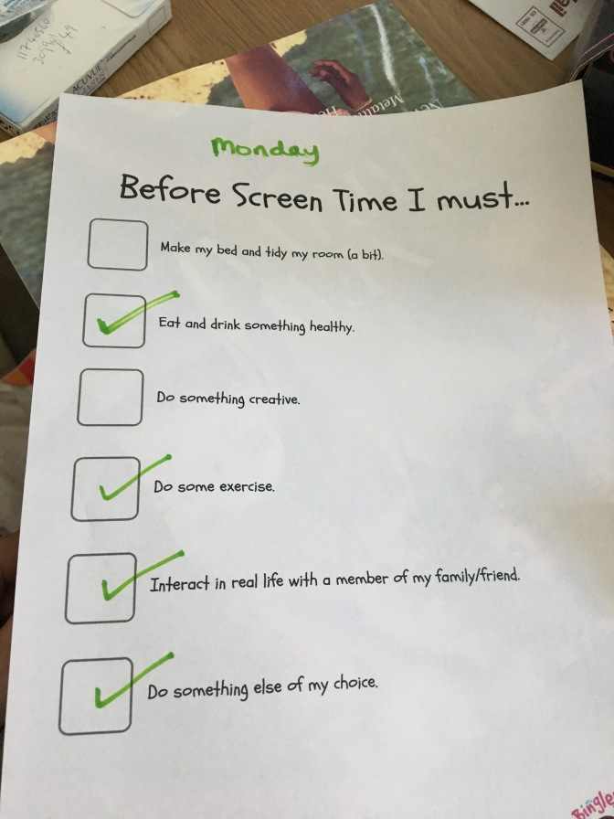 Holiday Enemy – Screen Time